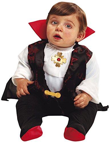 My Other Me Me-200148 Disfraz de bebé Drácula, 7-12 meses (Viving Costumes 200148)