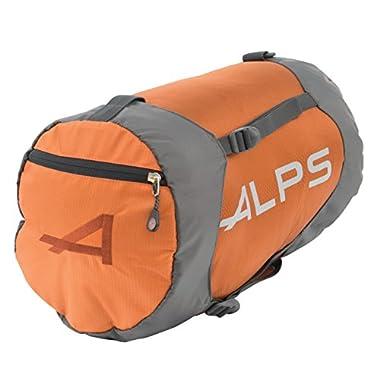 ALPS Mountaineering Compression Stuff Sack (Medium, Rust)