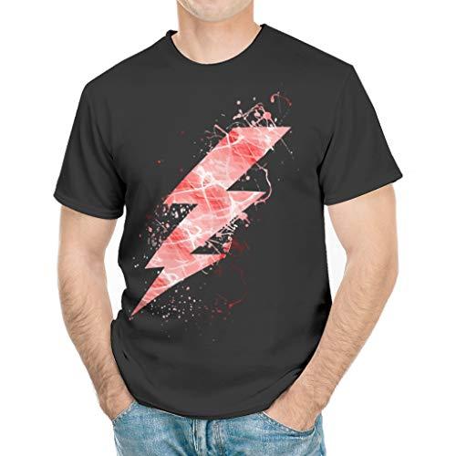 Camiseta Escarlata Hombres Durable Essentials Tee Películas Hero
