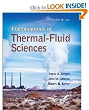 Thermal-Fluid Sciences 4th (Fourth) Edition byCengel