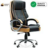 Green Soul Vienna High Back Leatherette Dynamic Chair (Black & Tan)