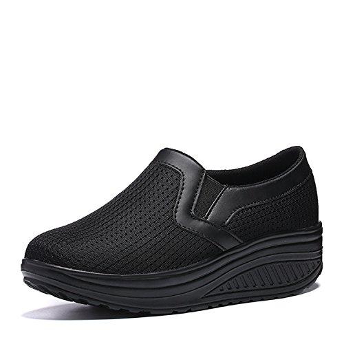 [Isyunen] ダイエットシューズ スリッポン エアクッション付き 船型底 ナースシューズ 痛くない ナース シューズ 疲れにくい ウォーキングシューズ 看護師 介護靴 安全靴 作業靴 疲れにくい