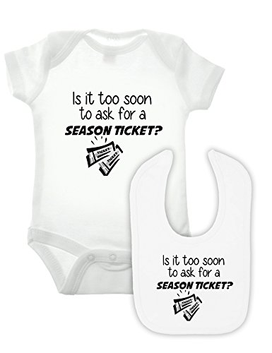 Bullshirt Season Ticket Body et bavoir Lot de 2