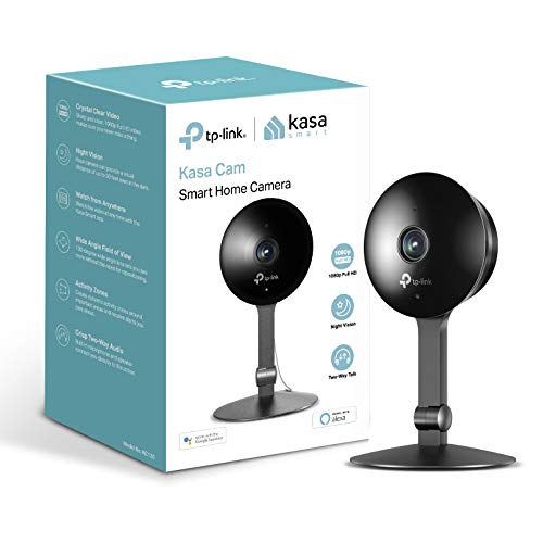 TP-Link KC120 IP Security Camera Interieur Zwart - Camera (IP Security Camera, Interieur, Zwart, Desktop System, 1920 x 1080 pixels)