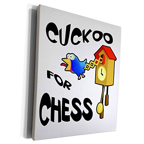 Scott397House Unframe Canvas Printing Wall Art 40x50 Dooni Designs Funny Cuckoo for Designs Funny Cuckoo for Chess Bird Design Framed Canvas Art Picture Print Wall Decoration for Living Room/Bed Room