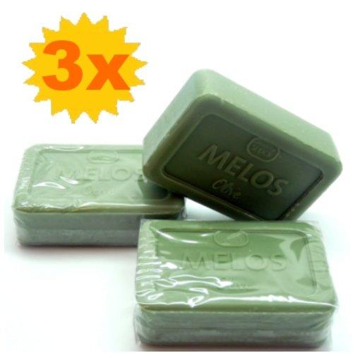 3x Speick Melos Pflegeseifen Oliven Seife je 100 g