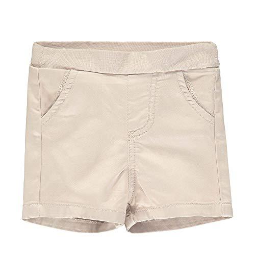 Steiff Baby-Jungen Shorts, Braun (Oxford Tan 8010), 80 (Herstellergröße: 080)