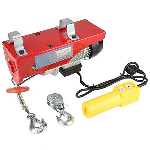 Elevación eléctrica con mando a distancia, cabrestante eléctrico, grúa, suspendida, 220 V,...