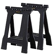 STANLEY 3 X Folding Junior Sawhorse - Twin Pack