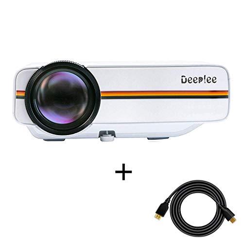Proyector, Deeplee Mini Vídeo Proyector Portatil...