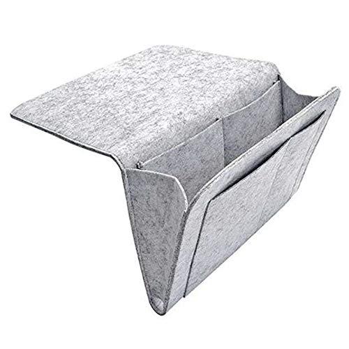 Icegrape vilt bed opbergtas Organizer met meerdere zakken voor bed rails, bank, stapelbed
