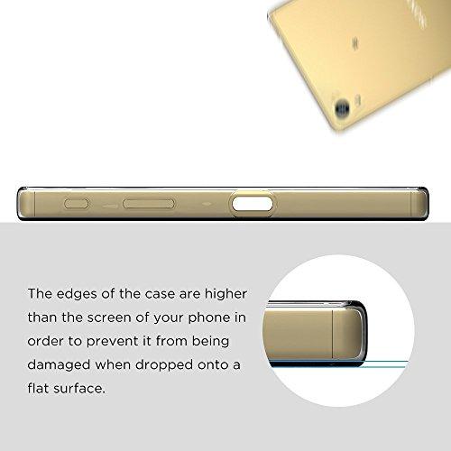 『Sony Xperia Z5 Premium ケース, Simpeak TPUクリア透明ケース保護カバー 5.5インチ専用 Z5 Premium ケース TPU』の7枚目の画像