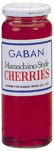 ギャバン マラスキノ チェリー 赤 220g瓶