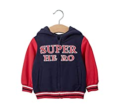 COTTON FAIRY Kids Toddler Girl Autumn Trench Coat Sports Hoodie Windproof Jacket