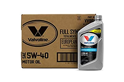 Valvoline 5W-40 MST SynPower Full Synthetic Motor Oil - 1qt (Case of 6) (VV966-6PK)