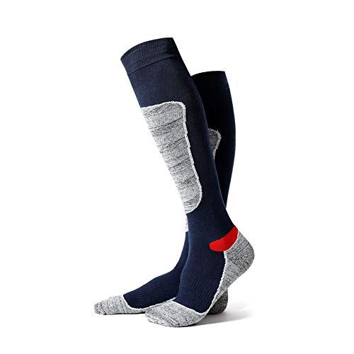 WPCASE calze antiscivolo cotone leggero calzini sportivi uomo calzini sportivi da uomo calzini sportivi da uomo calzini termici spessi uomini blue,m