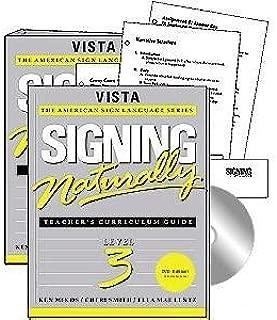 Harris Communications DVD009 Signing Naturally Level 3 Teacher Workbook & DVD