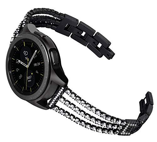 YGGFA 20 Mujeres DE 22 MM Reloj de Reloj para Samsung Galaxy Watch Active 2 44mm 40mm Pulsera para Galaxy Watch 46mm 42mm S3 para Huawei GT 2E Strap