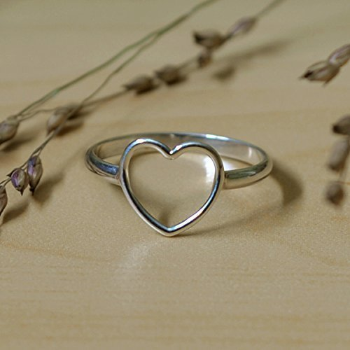 Sterling Silver 925 Heart Ring