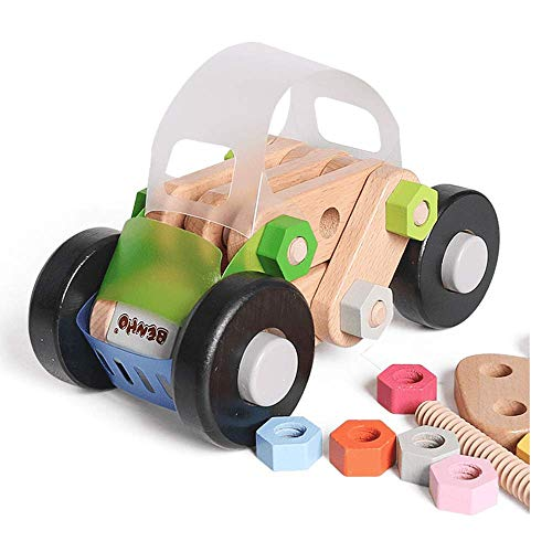 Amazing Deal CCM Children's Educational Toys Wooden Disassembly Hands-On Removable Nut Combination A...