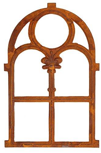 aubaho Eisenfenster Stallfenster 46 x 74cm Fenster Eisen Fenster Rahmen Rost Antik-Stil