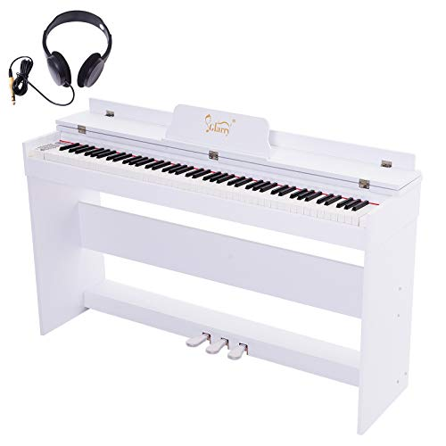 Great Features Of GLARRY 88-Key Home Full Weighted Hammer Heavy Action Digital Piano for All Experie...