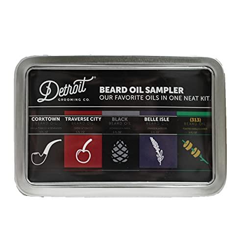 Detroit Grooming Co. Beard Oil Sampler - Includes...