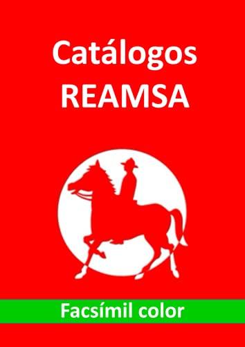 Catálogos REAMSA facsímil color: Soldaditos antiguos de plástico fabricados en España 1950-1980