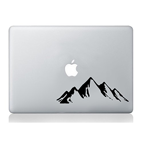 Mountains Hills MacBook Laptop Sticker Decal Vinyl Tablet Skin Mural Art Graphic Laptop Vinyl Sticker Sticker MacBook Decal Art Apple