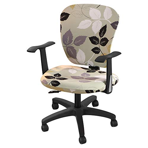 Papasgix Fundas Sillas Oficina Elasticas,Modernas Fundas para sillas Oficina Cubierta de Sillas...