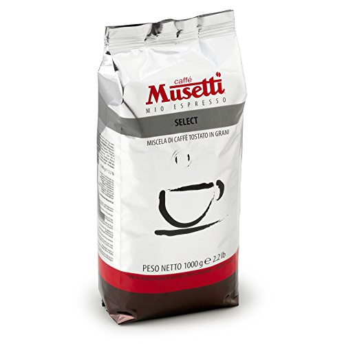 Musetti Coffee - Select Regular Espresso & Americano - Whole Beans - 1 kg (2.2 lb) bag with air valve