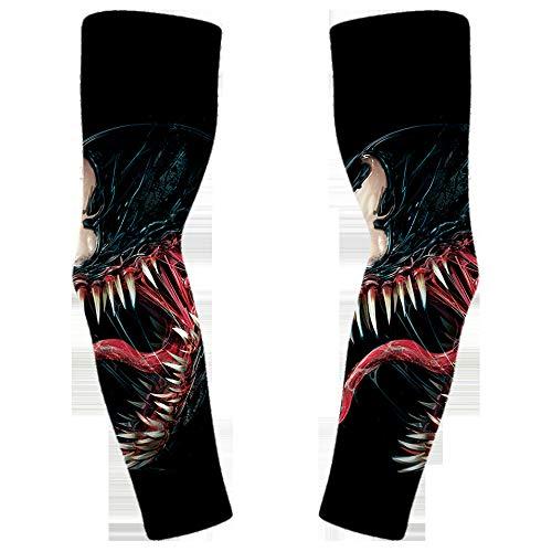 tzxdbh Ice Silk Sonnencreme Manschette Anti-UV-Dünnschliff Tattoo Ärmel Outdoor-Reiten Arm setzt Hersteller, die