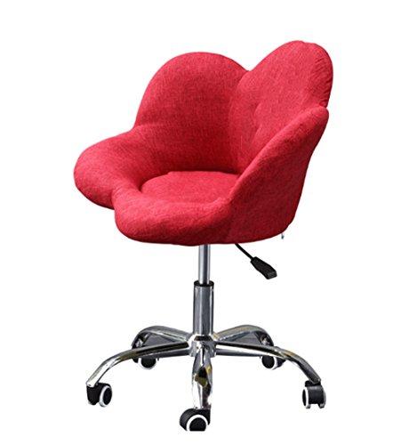 HCJLR FJXLZ® Pouf, Balcon Chambre Loisirs Chaise d'ordinateur Amovible et Lavable Réglable Hauteur Rotate Linen Chair Pliable, Amovible Sacs de Haricot Paresseux Faut (Couleur : #1)