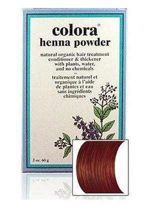 Natural Henna Hair Coloring Powder, Brown; 2oz