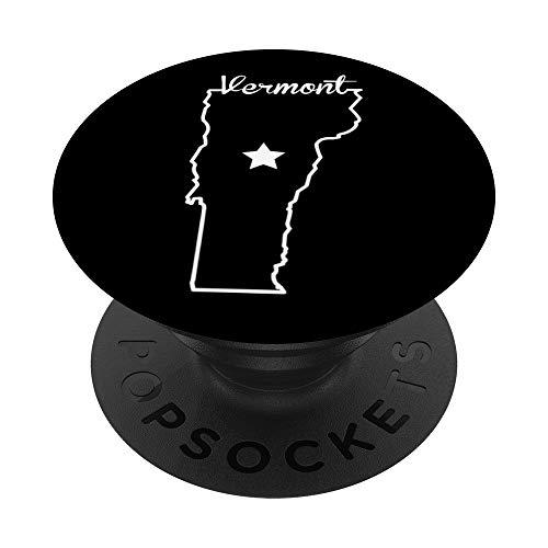 Regalo De Recuerdo Local De I Love State Of Vermont Home PopSockets PopGrip: Agarre intercambiable para Teléfonos y Tabletas