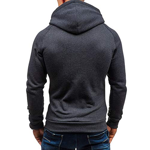 Z&Y Glaa Military Waterproof Men's Softshell Jacket Fleece Lining Camouflage Outdoor Coat Men's Thick Warm Fleece Hoodie Sweatshirt Hooded Pullover Jumper Jacket Long Sleeve Hooded Pullover