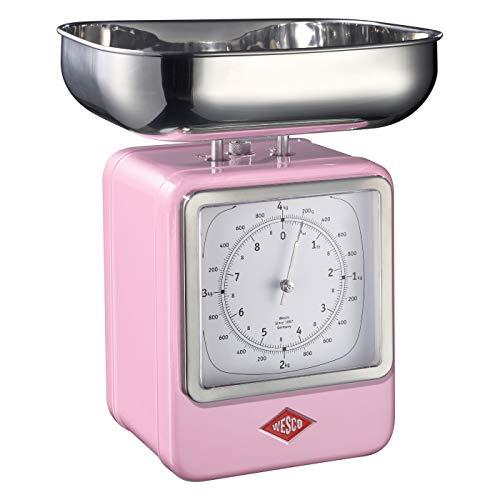 Wesco 322 204-26 Küchenwaage, pink