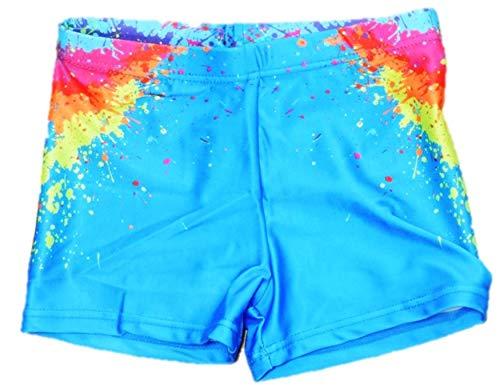 VanessasShop jongens aansluitende zwemshorts in sportief kleurrijk design in maat 98-158