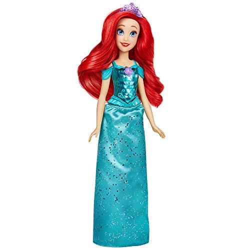 Boneca Disney Brilho Real Shimmer, para crianças a partir dos 3 anos - Princesa Ariel - F0895 - Hasbro