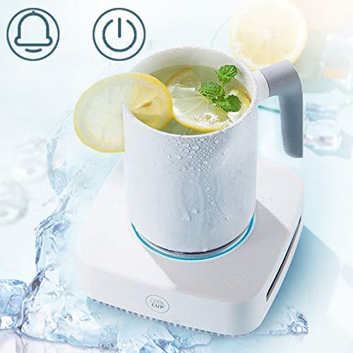 HUA JIE Tragbare Thermo Kühlbox, Mini Weinkühler Sektkühler, Schnelles Aufheizen Und Abkühlen Flaschenwärmer Abkühler Für Auto LKW Bier Cola Kaffee Milch