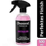Cleaneed Premium Detailer - Lackschnellversiegelung und Trockenwäsche – Made in Germany – Einfacher Auftrag, Extra starker Glanz