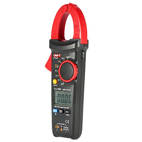 UNI-T UT213 C Handheld Digital LCD Tester Multimeter Zange AC/DC Spannung AC/DC Strom Widerstand Kapazität Diode NCV Temperatur Maßnahme Durchgangsprüfer mit Die Taschenlampe