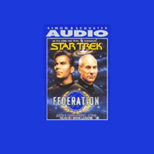 Star Trek: Federation audiobook cover art