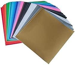 iImagine Vinyl 40-Sheets of Premium Permanent Self Adhesive Vinyl Sheets, 12