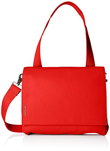 Mandarina Duck - Mellow Leather Tracolla, Bolsos de mano Mujer, Rojo (Lacquer)