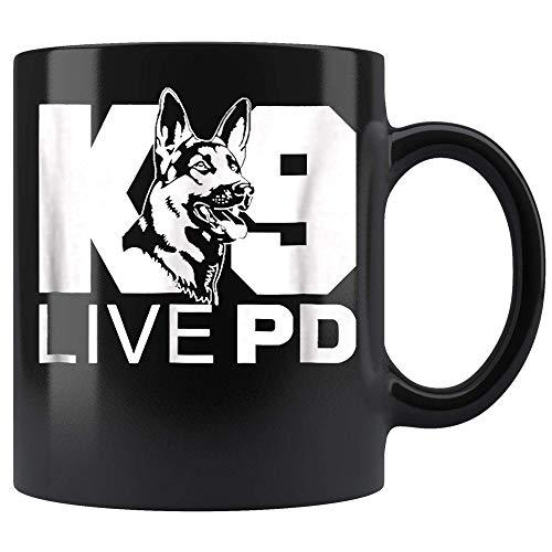 Police Dog - German Shepherd - Live PD - K9 Coffee Mug 11oz Tea Cups C4X97I