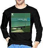Photo de EYSKJ T- T-Shirt Manches Longues Homme Taking Back Sunday Soft Mans Tops Long Sleeve T Shirt Black