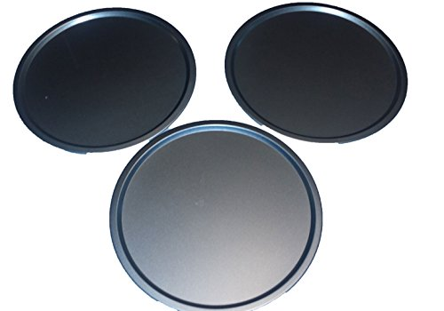 Italian Cooking Concepts THREE 12 inch Pizza Pans for baking Pizzas, cookies or Biscuits