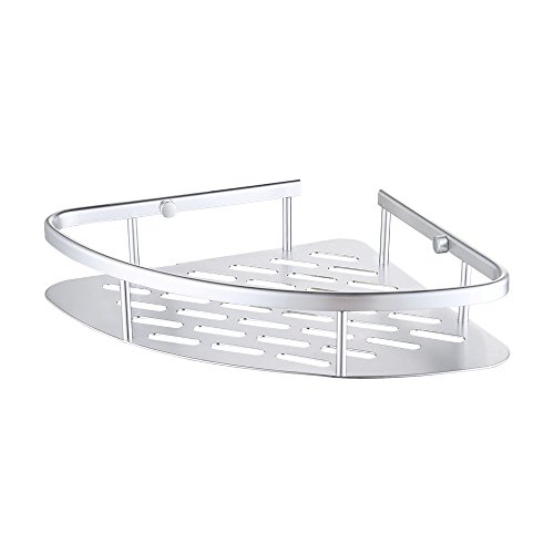 KES A4022A Tub and Shower Large Corner Basket Wall Mount Aluminum