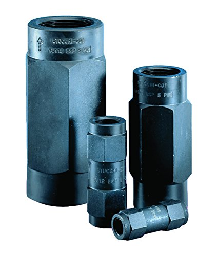 Stucchi 810200101Hydraulische Rückschlagventil, 1/10,2cm BSP